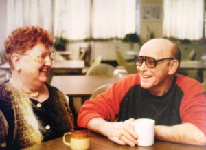 My Father, Charles, with his love, Aunt Bea.